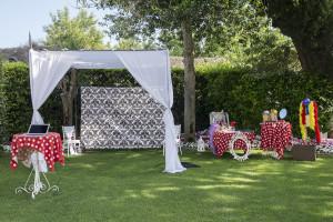 our setting for Villa Eva!